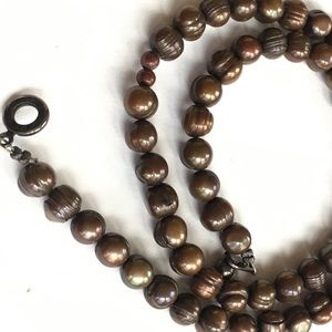 Jewelry - Brown Freshwater Pearls Necklace